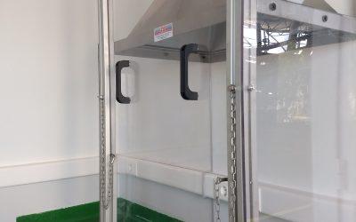 EXIDE TECHNOLOGIES. Diseño, fabricación y montaje de cabina a medida para laboratorio