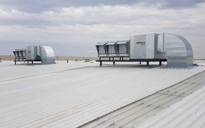 MANN+HUMMEL. Ventilación general nave molinos.