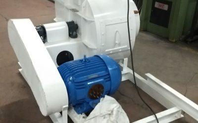UNION DERIVAN. Adecuación de ventilador y zaranda.