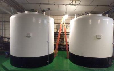 EXIDE TECHNOLOGIES. Instalación Depósitos PRFV y conducciones PVC.
