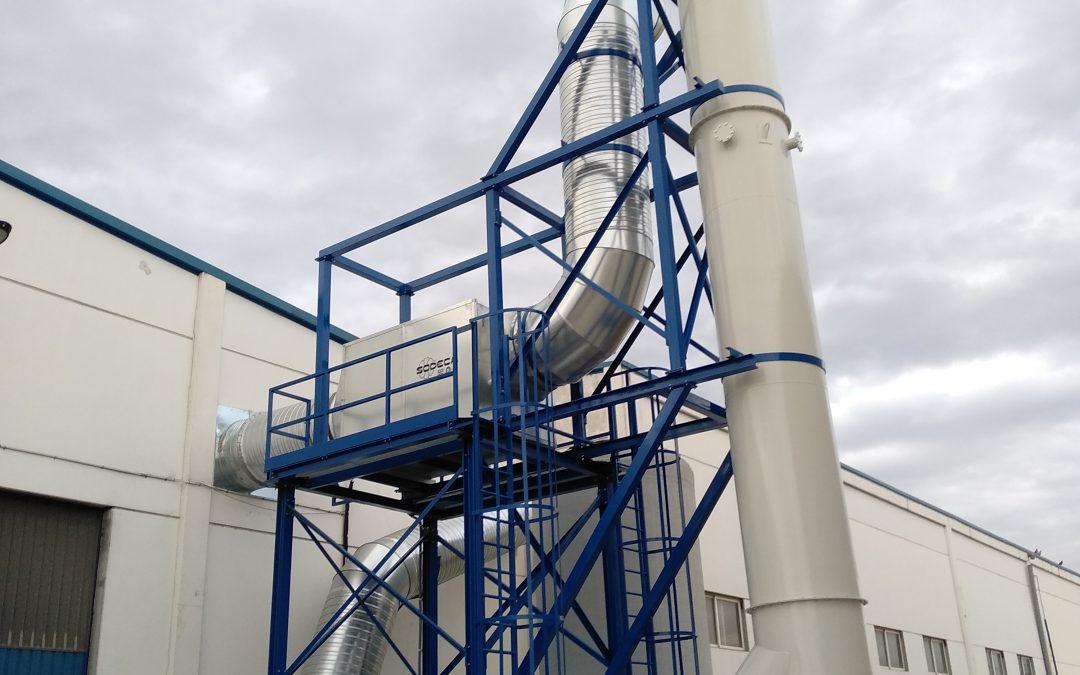 POLIURETANO RIVAS. Ventilación general y filtración.