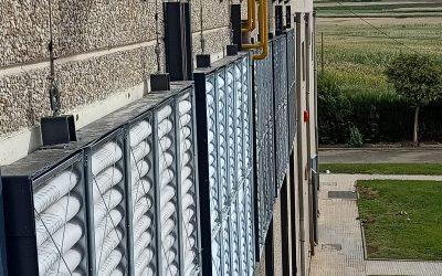 IGNIS ALTORRICON. Filtración aire entrada sala motores